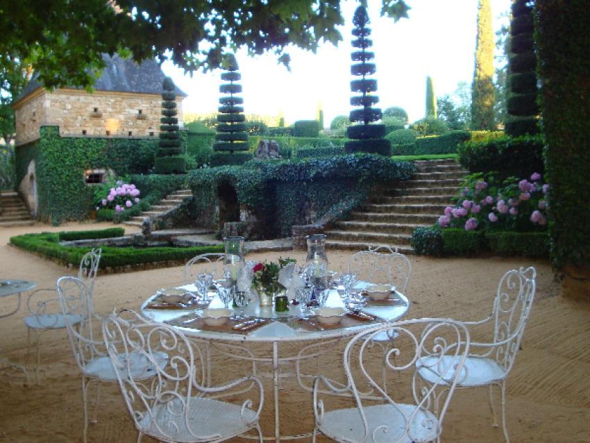 Garden Party - © Eyrignac et ses Jardins