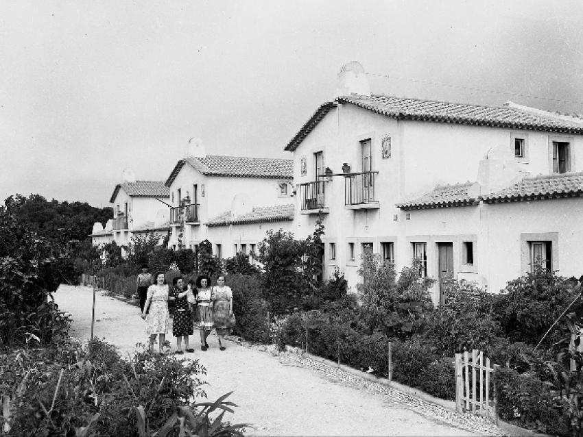 Potager de Lisbonne - Alcantara 1940 - © Archives municipales de la ville de Lisbonne