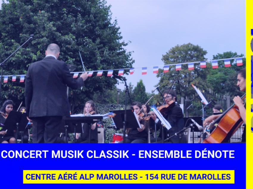 Concert Ensemble Dénote - © Laura Dyens
