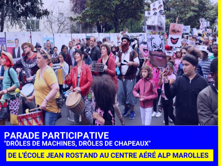 Parade participative - © Ville de Boissy-St-Léger
