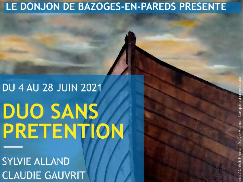 Duo sans prétention - © Commune de Bazoges-en-Pareds