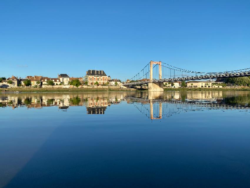 La Loire à Cosne - © Musée de la Loire