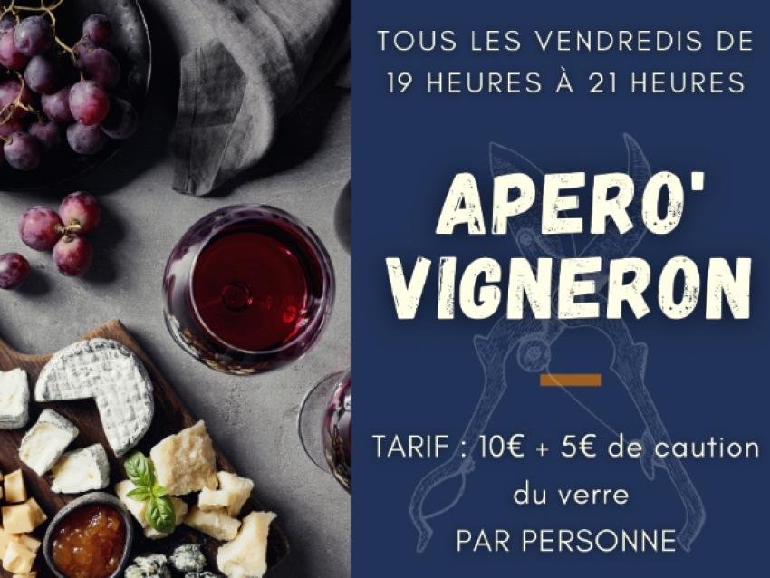 Apéro' Vigneron - © Mas Llossanes