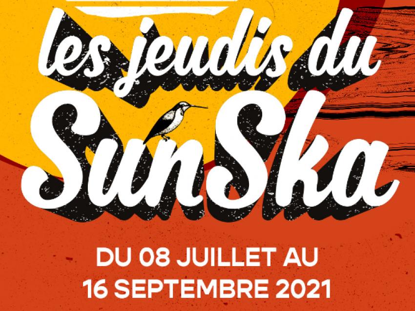 Logo Jeudis du SunSka - © copyright