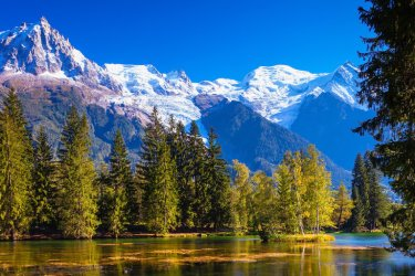 Alpes : Chamonix en Haute-Savoie
