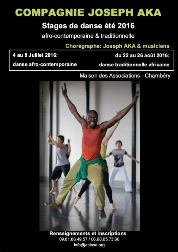 Afro Contemporary Dance Workshop Chambery 73000