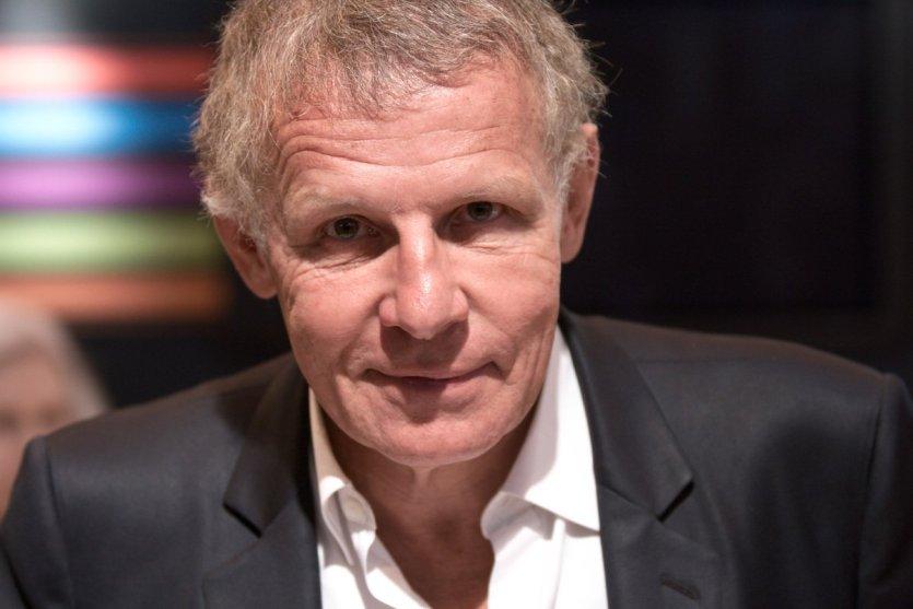 Patrick Poivre d'Arvor parrain du salon, et membre du jury. - © Georges Seguin