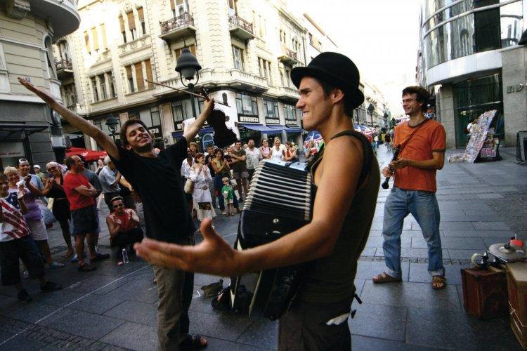 Ambiance dans la rue Knez Mihailova. - © National Tourism Organisation of Serbia
