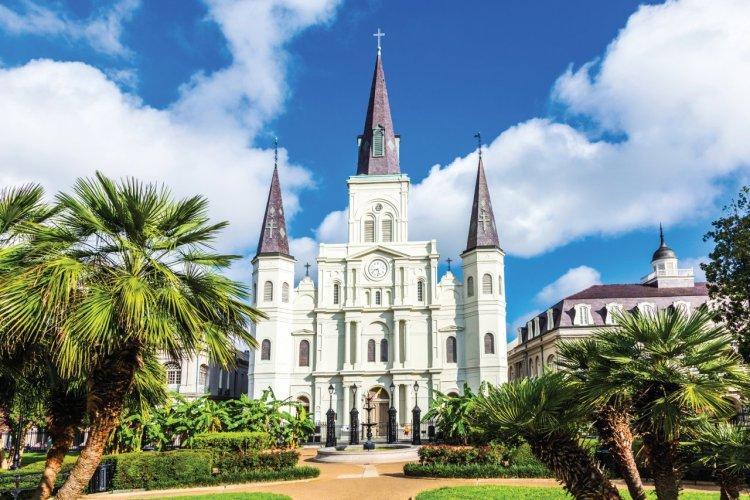Cathédrale Saint-Louis de La Nouvelle-Orléans. - © Meinzahn - iStockphoto