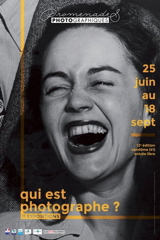 L'affiche de la 12ème édition des Promenades Photographiques de Vendôme. - © Les Promenades Photographiques de Vendôme