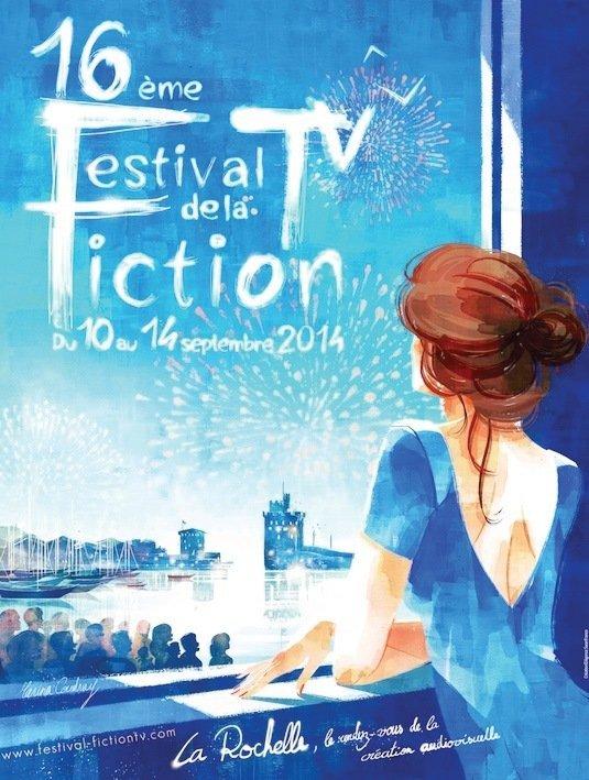 Affiche du 16ème Festival de la Fiction. - © Marine Coudray.