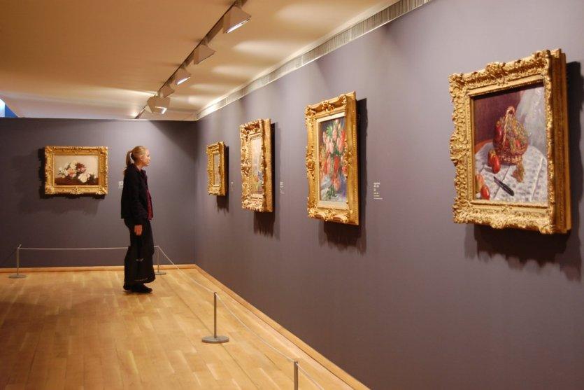 Une des salles du musée des impressionistes de Giverny. - © Wikimedia / Dr