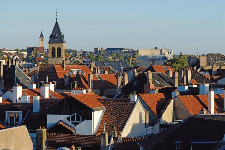 Le quartier de la porte des Allemands, à Metz - © Olivier FRIMAT