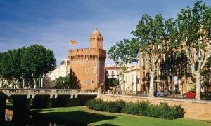 Le Castillet, une des portes de la ville de Perpignan