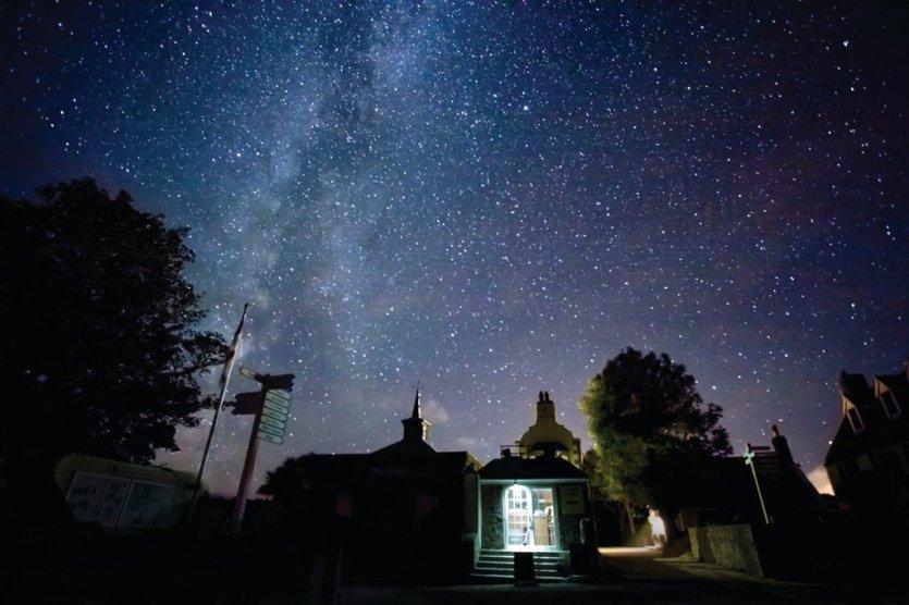 Le ciel de Sercq est un paradis pour observer les étoiles. - © Sark Tourism