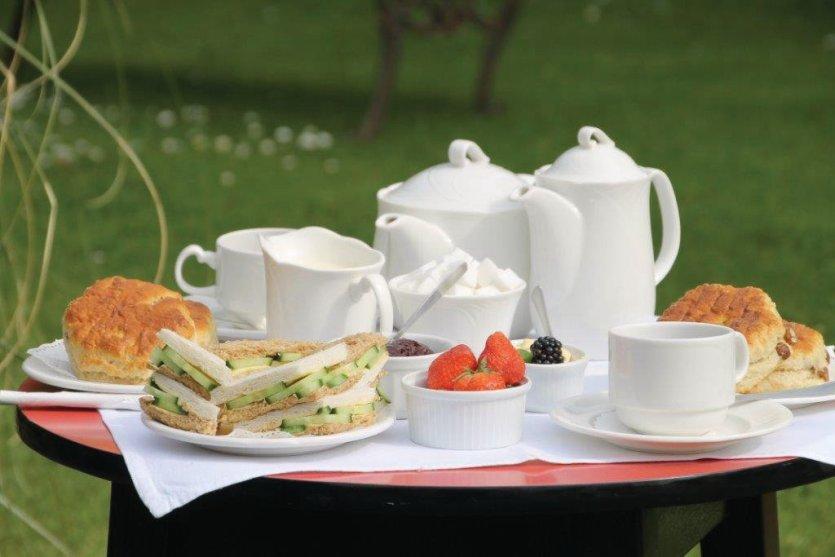 Le «tea time», une institution gastronomique. - © Sark Tourism