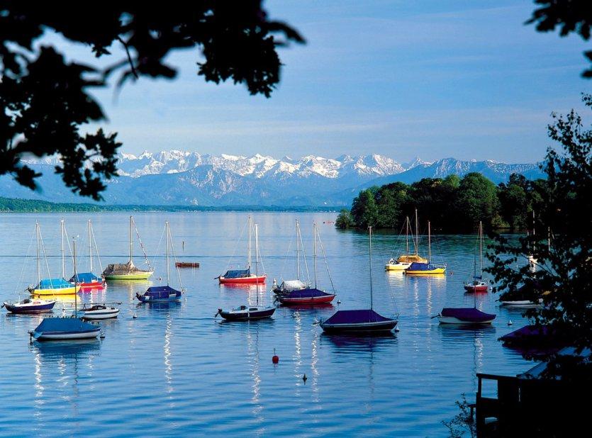 Roseninsel près du Lac Starnberg - © Association du Tourisme Région des Cinq Lacs de Starnberg