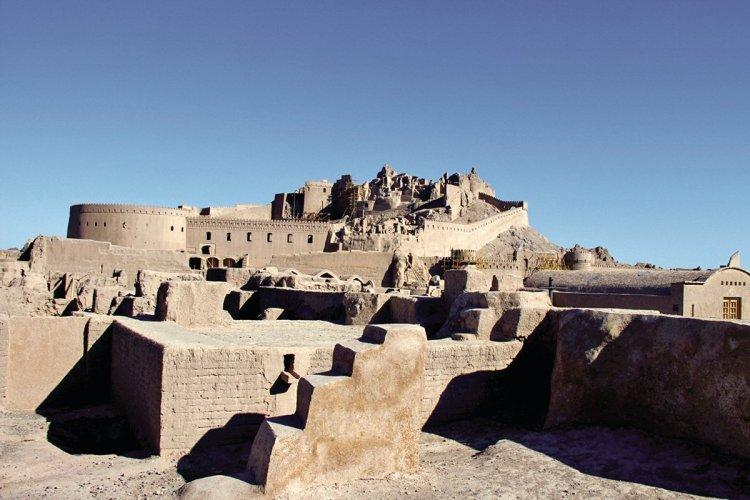 Vue sur la citadelle Arg-e Bam. - © MARCOPOLO IRAN TOURING CO