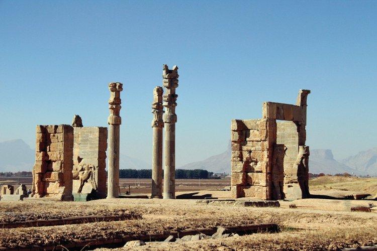 Des ruines dans la cité de Persépolis. - © MARCOPOLO IRAN TOURING CO