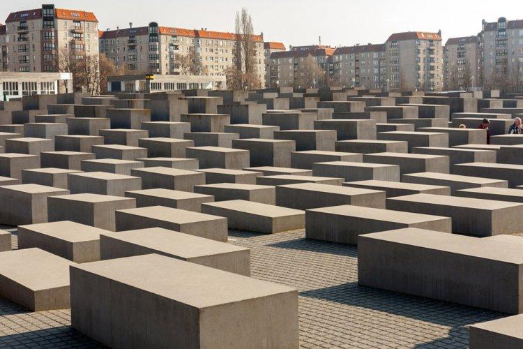 Vue sur une partie du mémorial du l'Holocaust. - © LUke1138 - iStockPhoto.com
