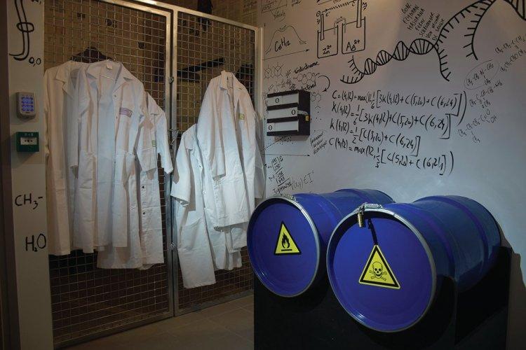 La laboratoire sous un autre angle - © DR