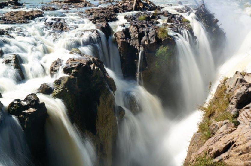 Epupa's falls.