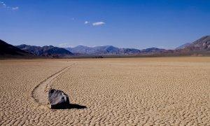 Racetrack Playa, le lac asséché à Death Valley