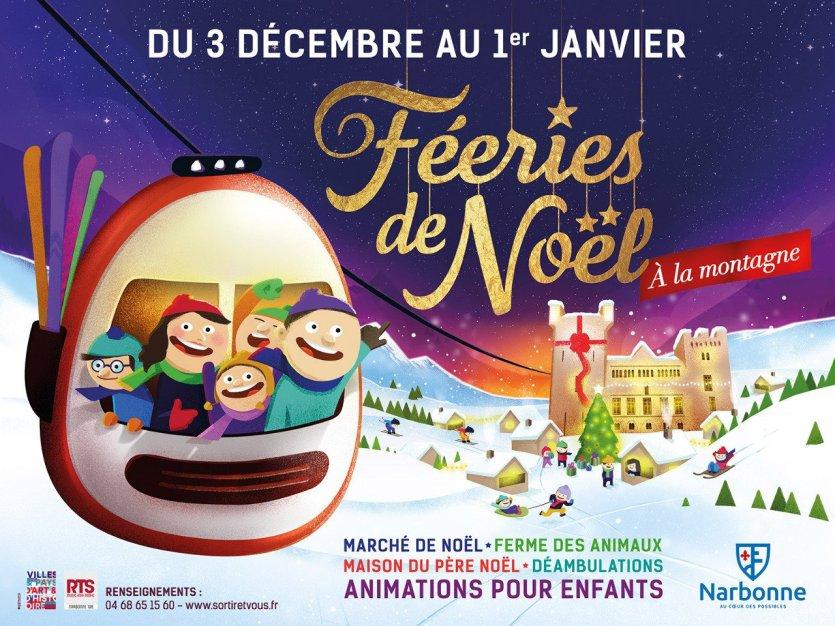 Les Féeries de Noël - © Office de tourisme de Narbonne