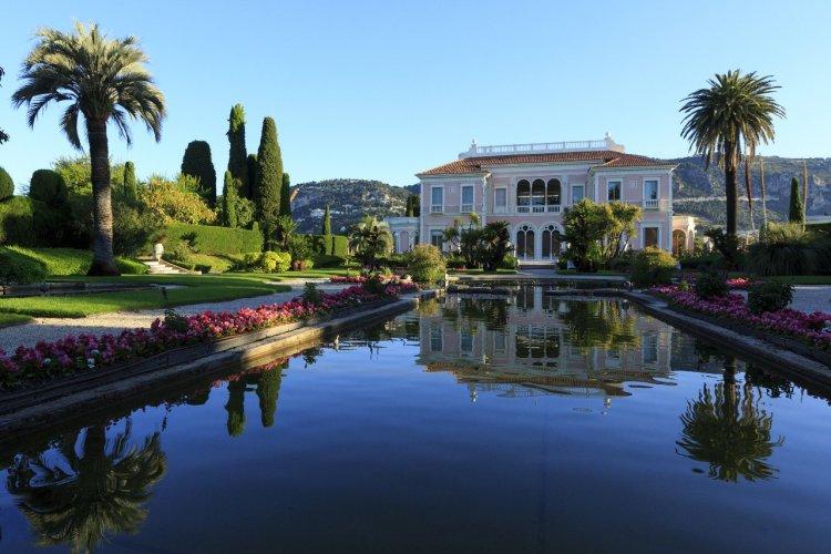 Jardin Villa Ephrussi de Rothschild - © CRT Côte d'Azur - Camille MOIRENC