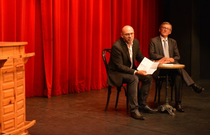 Conférence de presse - 25 ans du TFG - © © Théâtre Francis Gag
