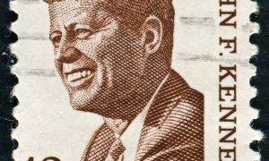 Le Président des États-Unis John Fitzgerald Kennedy.