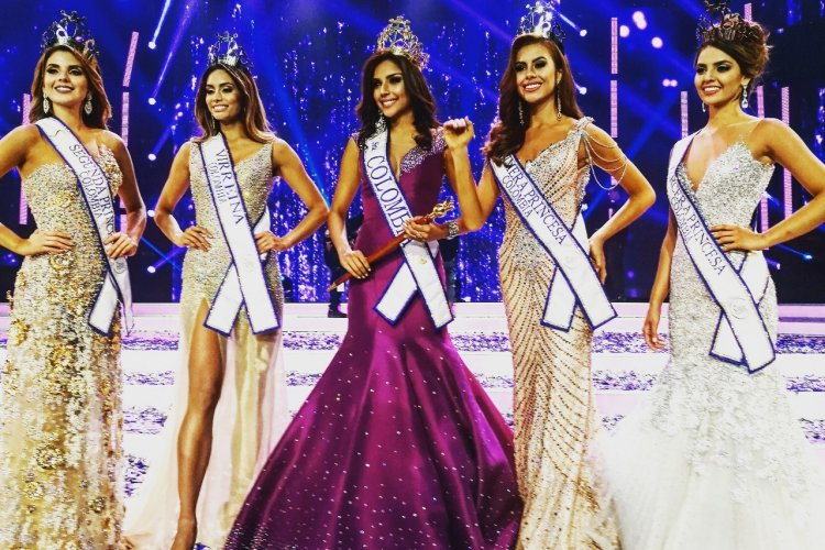 La grande finale - Miss Colombie 2017 - © Laurent BOSCHERO