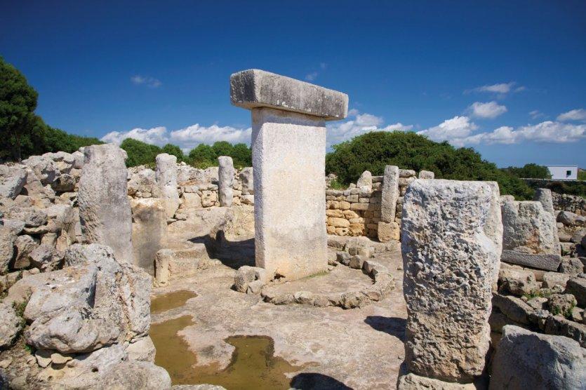 Ruines romaines Taula.