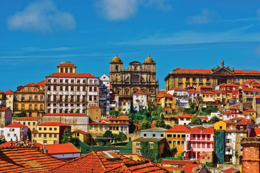 Vue sur le centre historique de Porto. - © Gkuna - iStockphoto
