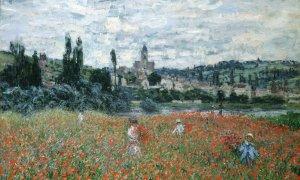 Claude Monet Champ de coquelicots près de Vétheuil, vers 1879 huile sur toile, 73 x 92 cm Fondation Collection E.G. Bührle