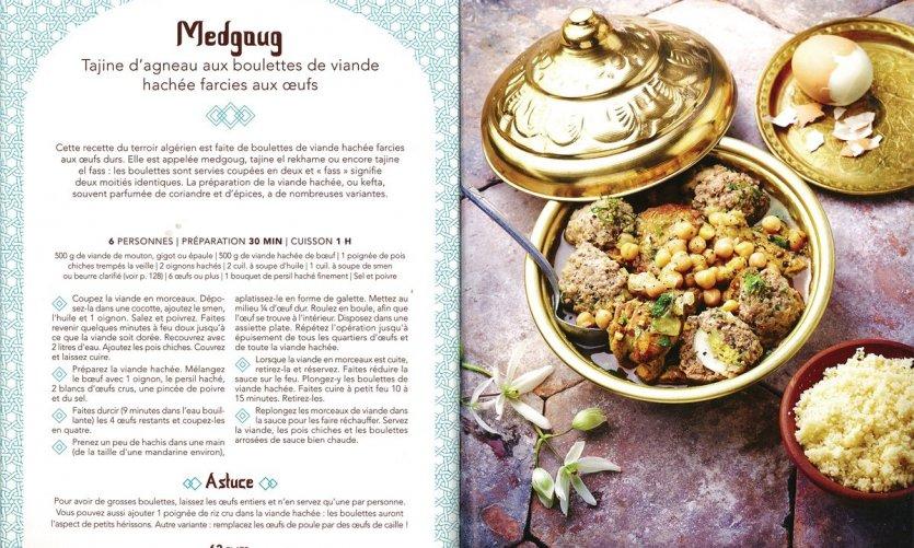 Conseil lecture - Voyage culinaire algérien