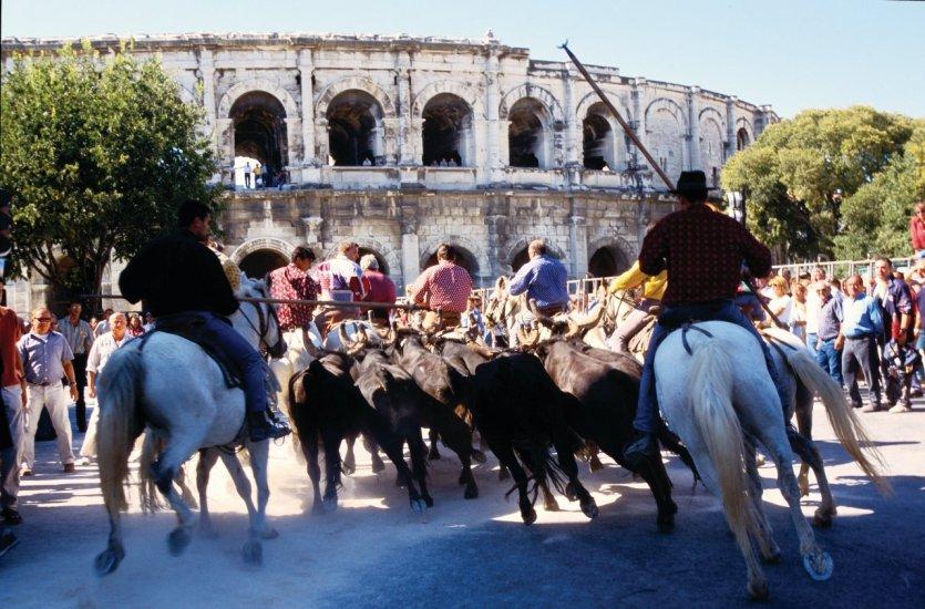 Les arènes de Nîmes. - © V. Formica / Culturespaces