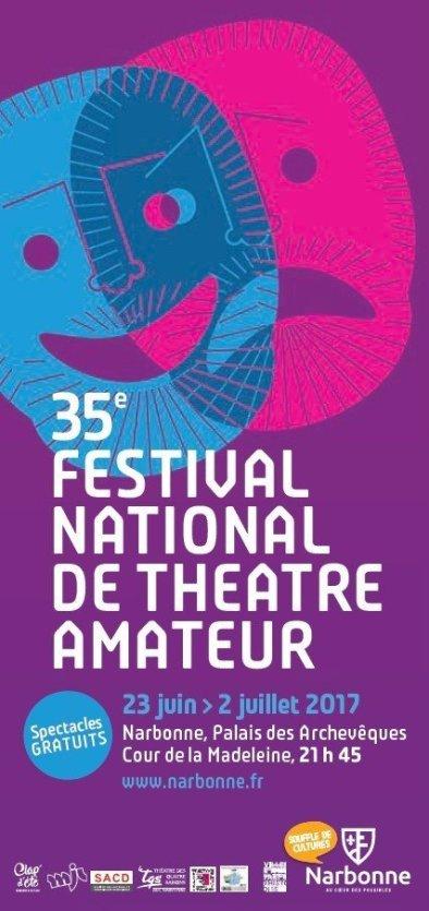 Festival National de Théâtre Amateur - © Office de tourisme de Narbonne