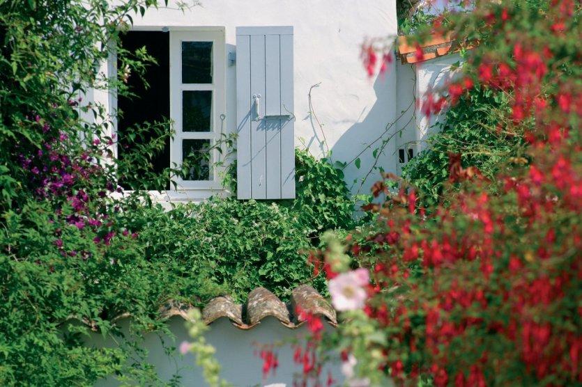 Façade fleurie - Ile d'Oléron