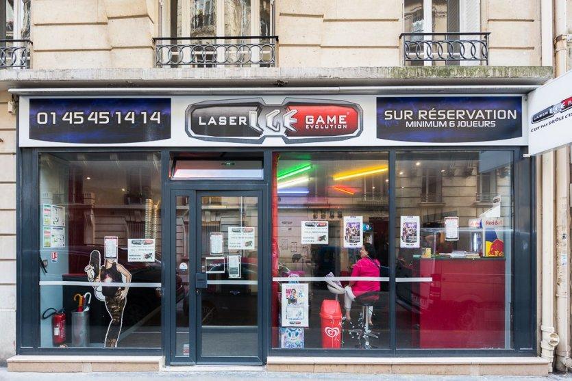 Lasergame Evolution Paris 14
