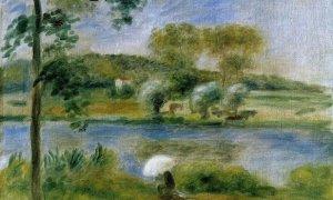 Les banques de la Rivière, Auguste Renoir