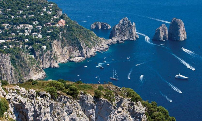 Capri, de l'île réelle à l'île mythique