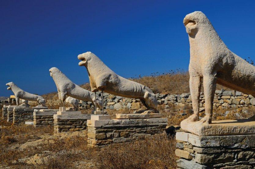 Les lions de Delos.