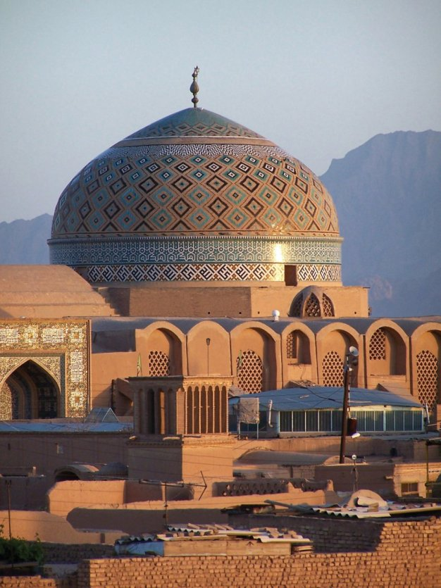 Grande mosquée d'Yazd. - © Steve HUMPHREYS