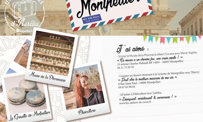 Les Cartes Postales d'Aurélia à Montpellier