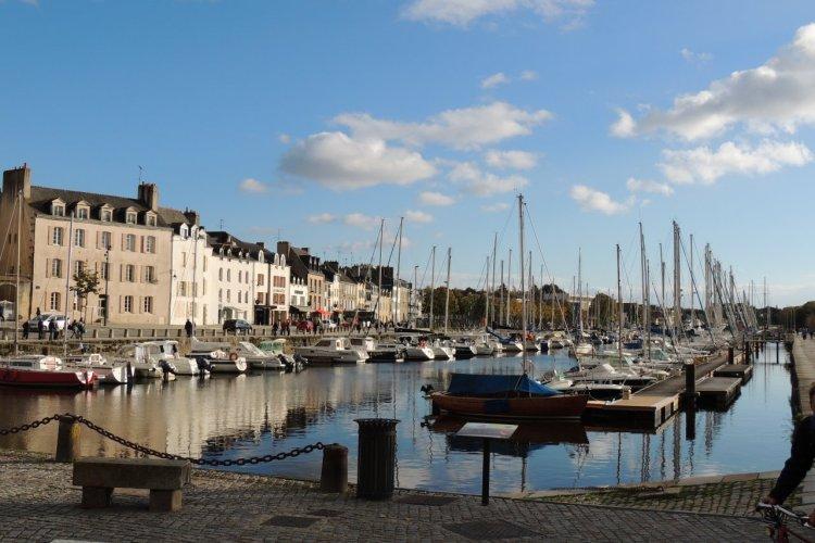 Le port de Vannes. - © Isabelle LEDOUX