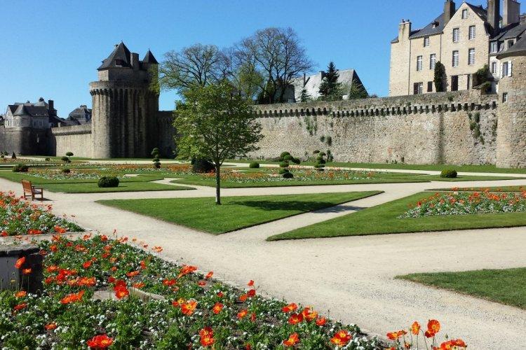 Jardin du château de l'Hermine, Vannes. - © Isabelle LEDOUX