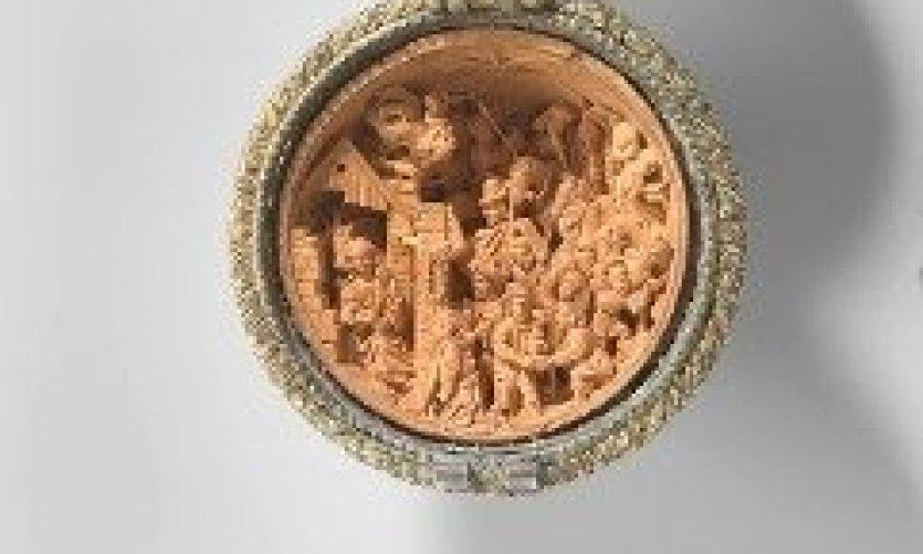 Noix de prière avec la Nativité et l'Adoration des Mages, Adam Dircksz. Et atelier, c. 1510 - c. 1525