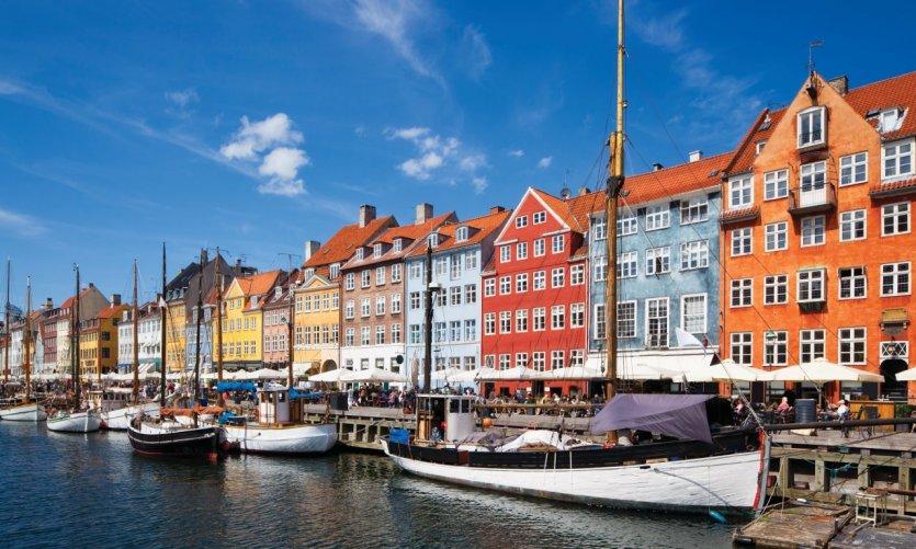Nyhavn, le canal central de Copenhague.
