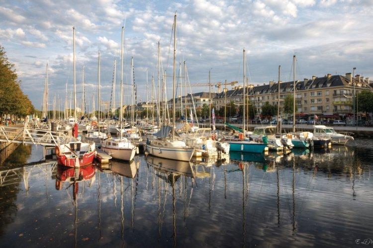 Le bassin Saint-Pierre, port historique de Caen - © Emmanuel LE PRIVE